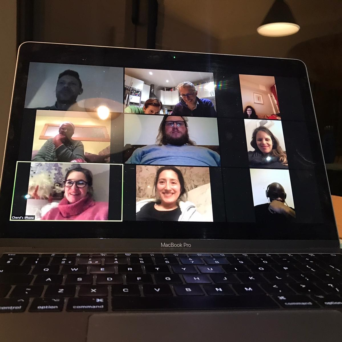 homegroup meeting on zoom